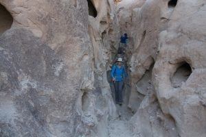 Slot Canyon, Domelands Desert Backpack trip